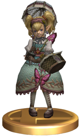 File:Super Smash Bros Brawl Trophies Agitha (Trophy Render).png