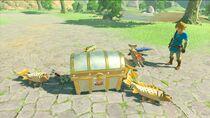 Amiibo Toon Link function