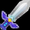 A Espada Mestra em A Link Between Worlds