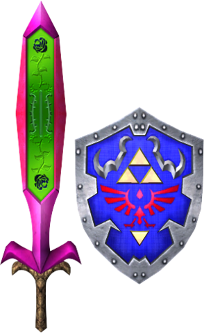 File:Great Fairy's Sword and Hylian Shield (Soul Calibur II).png