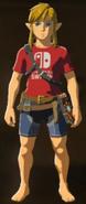 Breath of the Wild Armor Nintendo Switch Shirt (DLC Armor)