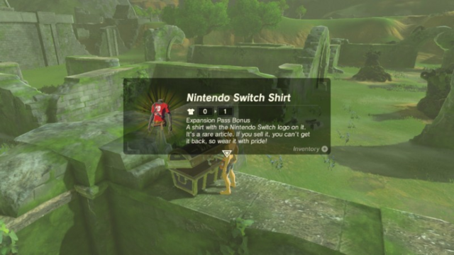 File:Breath of the Wild EX Treasure Chest Nintendo Switch Shirt (DLC Armor).png