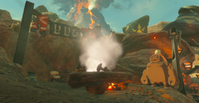 File:Breath of the Wild Goron City Protein Palace (BBQ).png