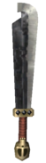 Skyward Sword Enemy Weapons Stalfos Sword (Render)