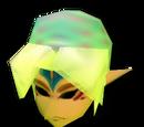 Gesicht der grimmigen Gottheit