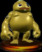 Super Smash Bros. Melee Trophies Goron (Render)