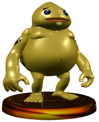 File:Super Smash Bros. Melee Trophies Goron (Render).png