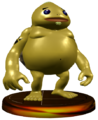 Super Smash Bros. Melee Trophies Goron (Render).png