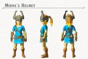 Breath of the Wild DLC Armor Midna's Helmet (Head Armor)