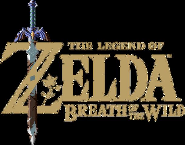 File:The Legend of Zelda Breath of the Wild logo.png