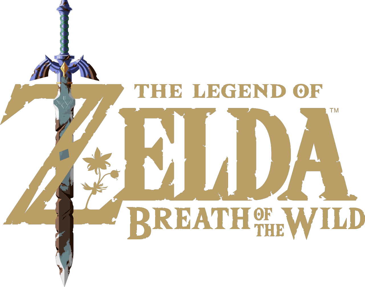 Resultado de imagem para the legend of zelda breath of the wild logo