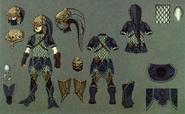 Twilight Princess Artwork Zora Armor (Concept Art - Hyrule Historia)