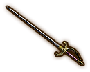 Hyrule Warriors Rapier Polished Rapier (Level 1 Rapier)