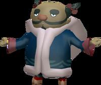 The Wind Waker Figurine Zunari (Render)
