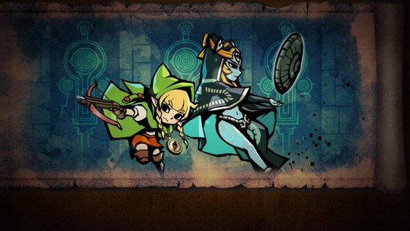 File:Hyrule Warriors Legends Linkle's Tale - Her True Self Linkle & Twili Midna (Stylized Cutscene).png