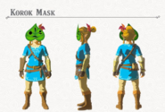 Breath of the Wild DLC Armor Korok Mask (Head Armor)