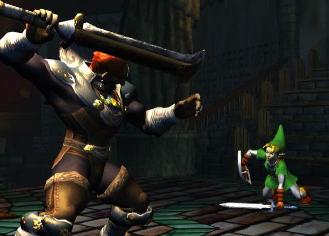 Arquivo:Link vs. Ganondorf (Space World 2000).png