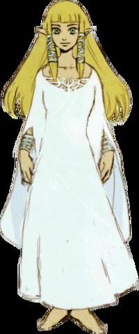 File:Skyward Sword Artwork Spirit Maiden Zelda - Hylia Robes (Concept Art).png