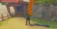 Link Carrying Pumpkins