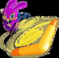 A Link Between Worlds Ravio Boomerang (Artwork).png