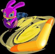 A Link Between Worlds Ravio Boomerang (Artwork)