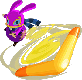 File:A Link Between Worlds Ravio Boomerang (Artwork).png