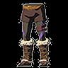 Breath of the Wild Faron Barbarian Armor Set Barbarian Leg Wraps (Icon).png
