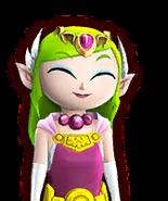 Hyrule Warriors Legends Toon Zelda Pretty Smile (Dialog Box Portrait)
