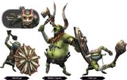 Hyrule Warriors Enemy Units Bulblin (Render)