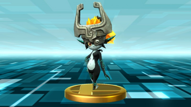 File:Super Smash Bros. for Wii U Twilight Princess Midna (Twilight Princess) Midna (Trophy).png