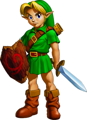 File:Young Link Artwork 2 (Ocarina of Time).png