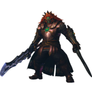 Hyrule Warriors Legends Ganondorf Standard Outfit (Master Quest - TWW Ganondorf)