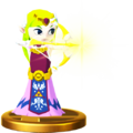 Super Smash Bros. for Wii U Princess Zelda (The Wind Waker) Toon Zelda (Trophy).png