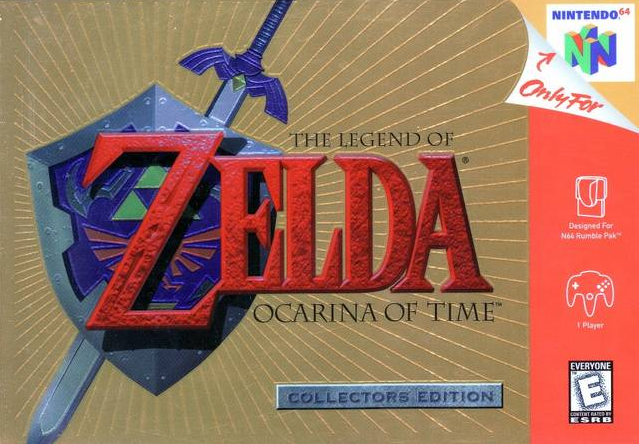 File:The Legend of Zelda - Ocarina of Time (Collector's Edition).png