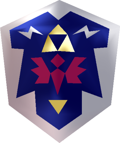File:Hylian Shield (Ocarina of Time).png