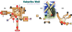 Bottom of the Well Map