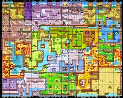 Um mapa de Holodrum