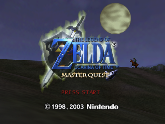 File:Title Screen (Master Quest).png