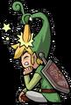 Link Artwork 6 (The Minish Cap)
