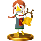 Super Smash Bros. for Wii U Sage of Earth Medli (The Wind Waker) Medli (Trophy)