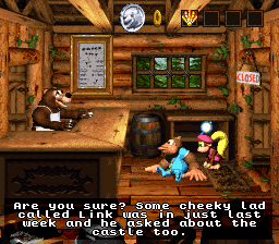 Donkey Kong Country 3 Cameo