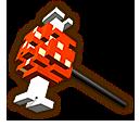 Hyrule Warriors Hammer 8-Bit Bait (8-bit Hammer)