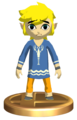 Super Smash Bros. Brawl Toon Link Outset Link (Trophy).png