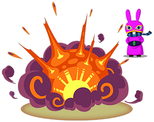 File:A Link Between Worlds Ravio Bombs (Artwork).png