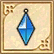 File:Hyrule Warriors Legends Fairy Clothing Demon Lord Earrings - Blue (Accessories).png