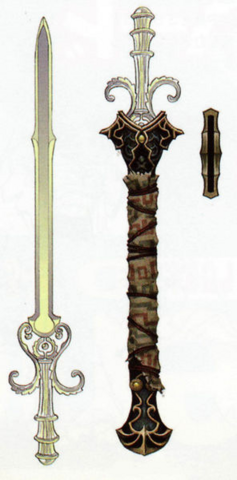 File:Twilight Princess Artwork Sword of the Six Sages (Concept Artwork - Hyrule Historia).png