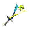 File:Breath of the Wild Rod (Electric) Lightning Rod (Icon).png