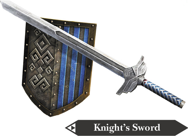 File:Hyrule Warriors Hylian Sword Knight's Sword (Render).png