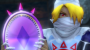 Hyrule Warriors The Water Temple Lens of Truth (Cutscene)
