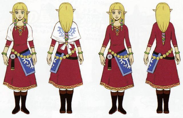 File:Skyward Sword Artwork Zelda - Skyloft Robes (Concept Art).png